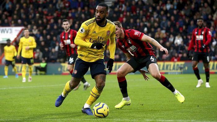 Arsenal bermain imbang dengan Bournemouth 1-1 di Boxing Day Liga Inggris. (Foto: Mark Kerton/PA via AP)