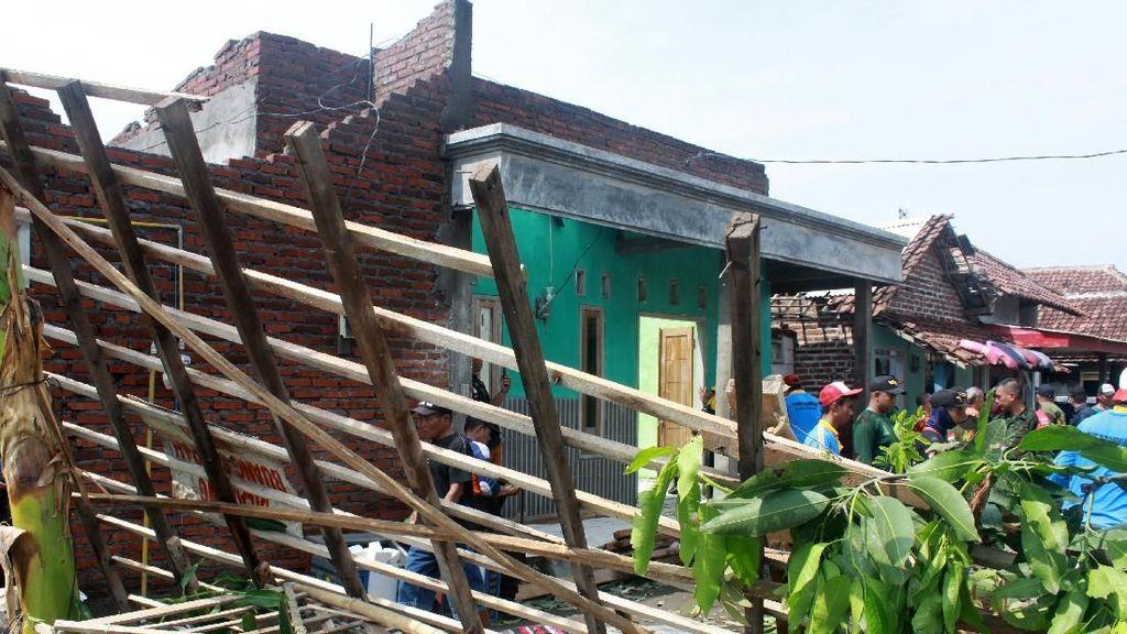 Begini Dampak Kerusakan Puting Beliung di Sidoarjo
