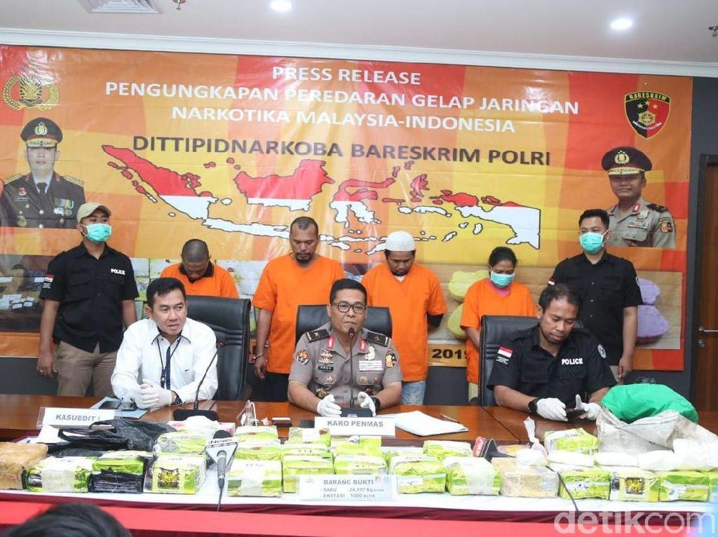 4 Anggota Sindikat Sabu Malaysia Ditangkap di Jakarta, 1 Tewas Ditembak