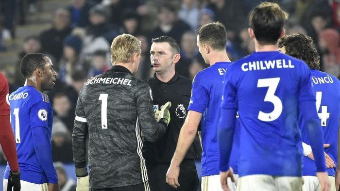 Leicester City mengkritik kepemimpinan wasit ketika dikalahkan Liverpool (Rui Vieira/AP Photo)