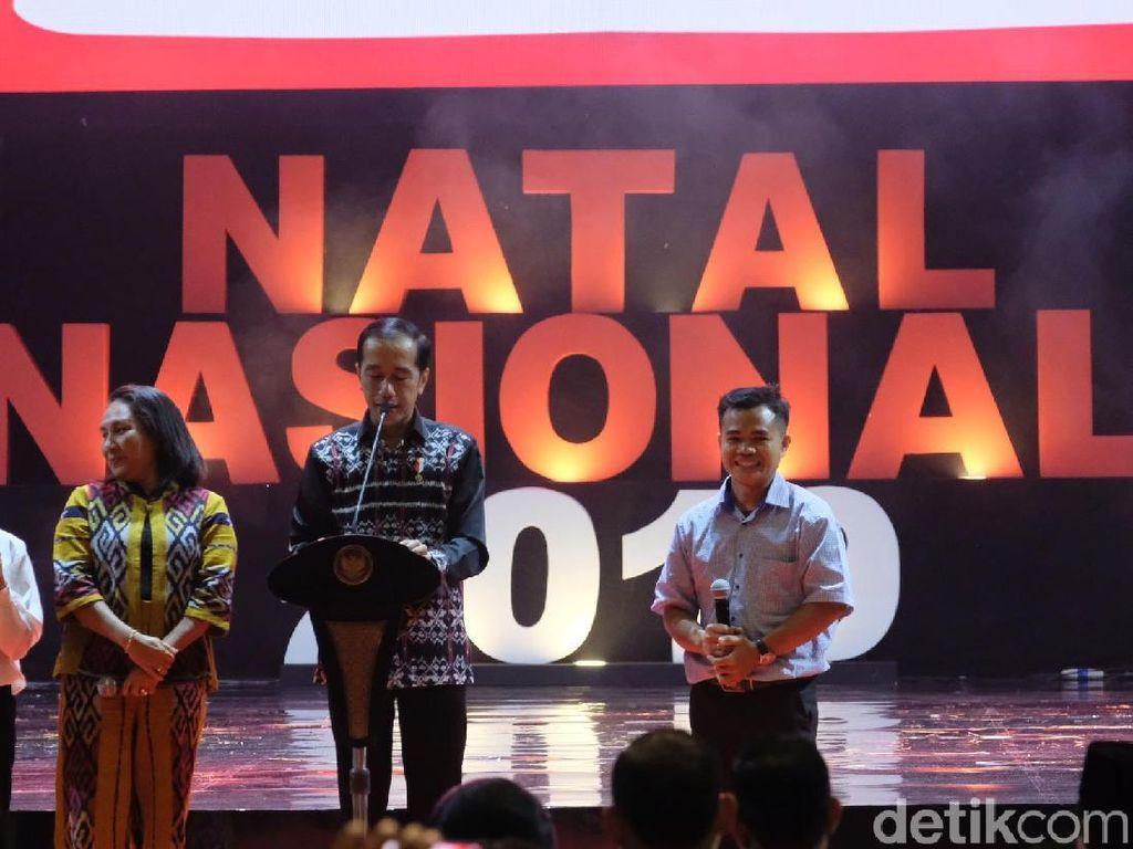 Pesan Jokowi di Perayaan Natal Nasional: Jaga Nilai Persaudaraan