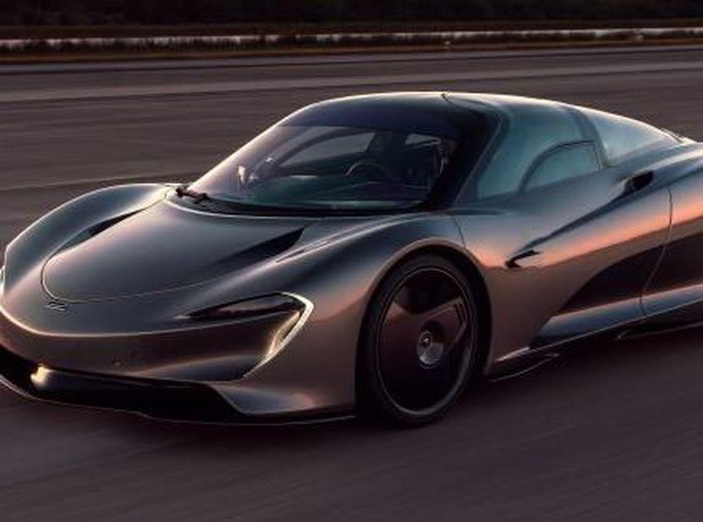 Mobil Paling Ngebut McLaren Speedtail, Bisa Lari Sampai 403 Km/jam