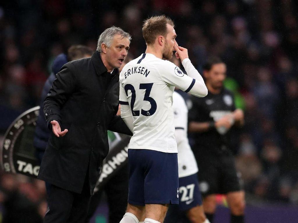 Mourinho Sudah Tahu Bagaimana Kelanjutan Eriksen di Tottenham