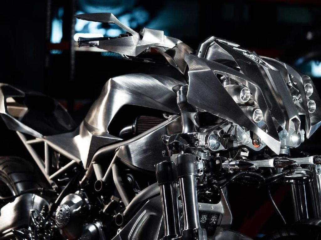 Makin Sangar, Ini Modifikasi Yamaha Niken Pertama di Dunia