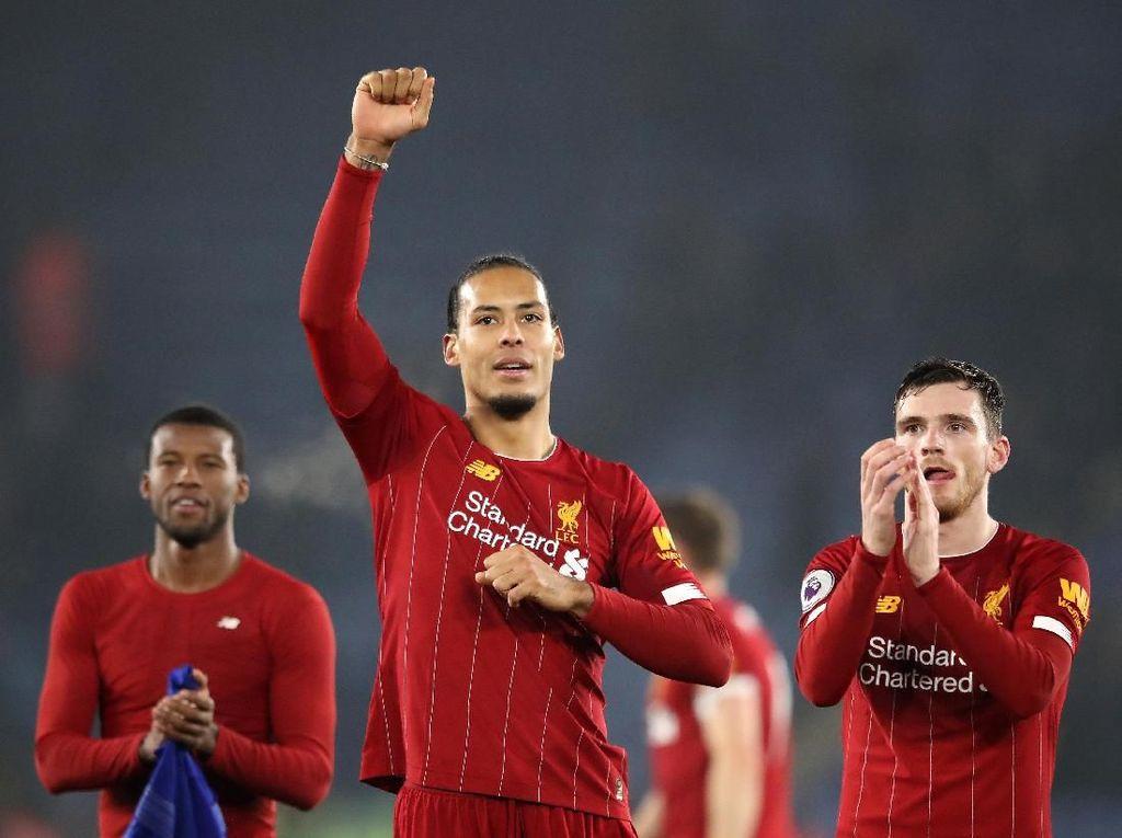 Kompany: Van Dijk Bek Terbaik dalam Sejarah Premier League