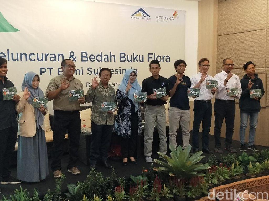 Launching Buku Flora Lengkapi Fauna yang Diluncurkan Setahun Lalu