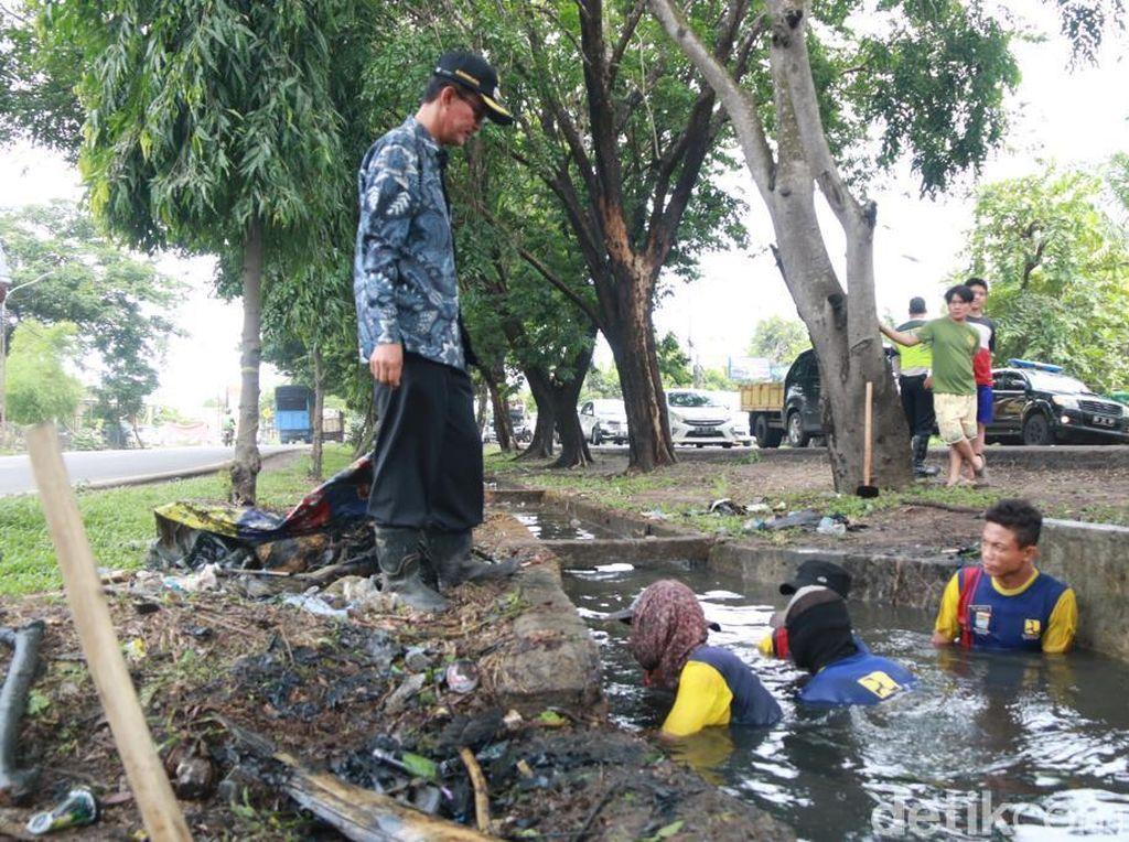 Banjir Genangi Palembang Tadi Malam, Walkot Minta Drainase Mampet Dibersihkan
