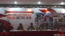 Kejahatan di Jakarta Selama 2019 Terjadi Setiap 16 Menit 11 Detik