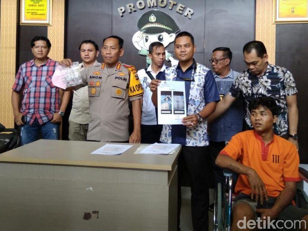7 Bulan Buron, Pencuri yang Tembak Polisi di Palembang Ditangkap