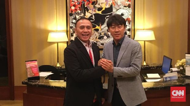 Senyum Merekah Shin Tae Yong Jelang Resmi Jadi Pelatih Timnas