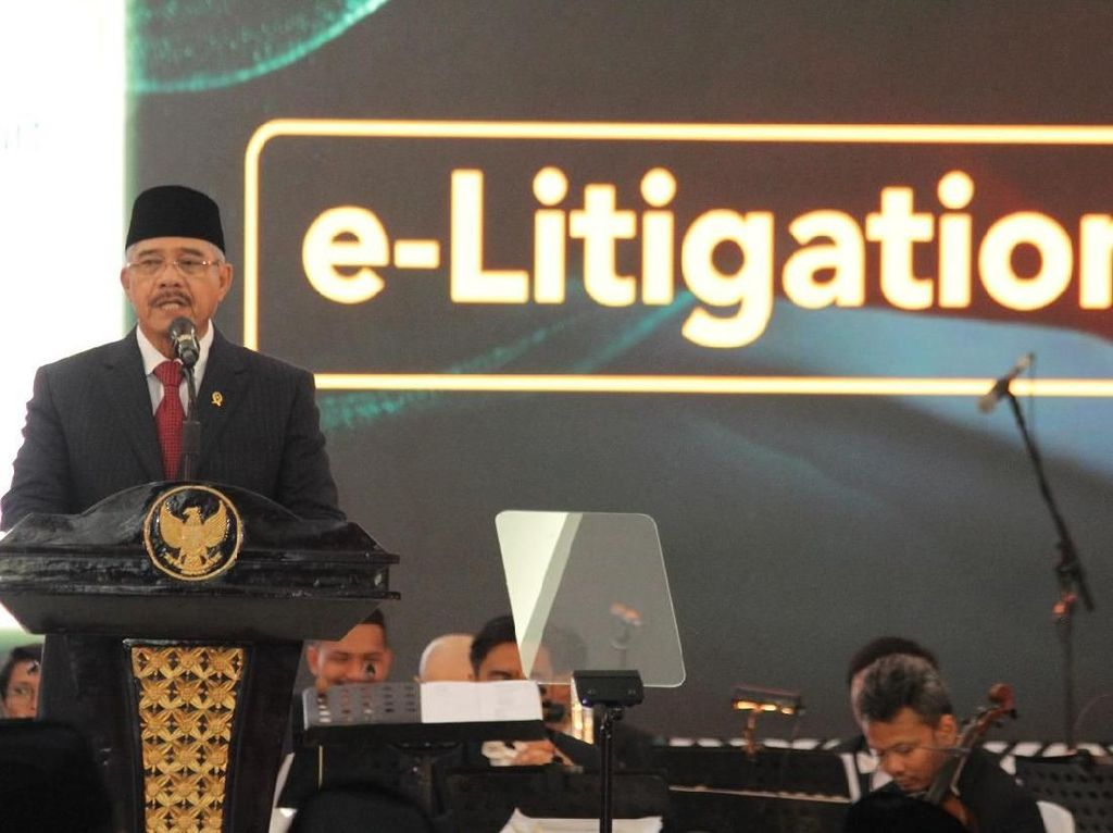 Ketua Mahkamah Agung Hatta Ali Tidak Pakai Hak Pilih Ketua MA Baru
