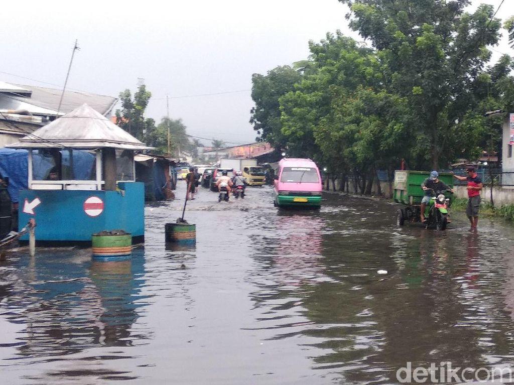 40 Titik di Kota Bandung Terendam Akibat Hujan Deras