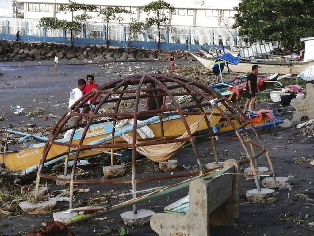 Jumlah Korban Tewas Topan Phanfone di Filipina Jadi 41 Orang