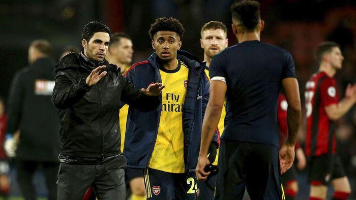 Manajer Arsenal Mikel Arteta menilai timnya memulai dengan bagus, meski seharusnya sanggup menang. (Foto: Mark Kerton/PA via AP)