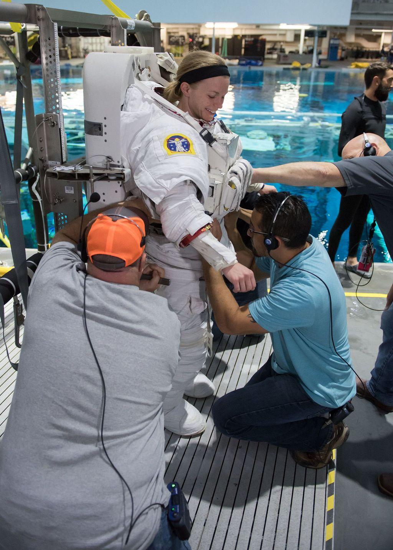 Program ini merupakan batu loncatan untuk misi selanjutnya yaitu mendaratkan manusia untuk pertama kalinya ke Mars. Foto: NASA/David DeHoyos