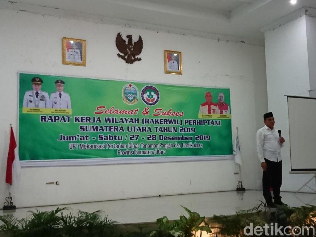 Gubernur Edy Ingin Tanam Pohon Jengkol di Sepanjang Tol Sumut