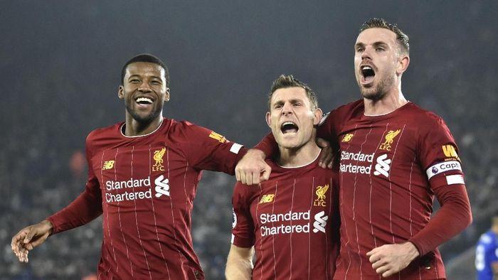 Liverpool diprediksi akan terus memuncaki klasemen Liga Inggris sampai akhir musim. Foto: Rui Vieira/AP Photo