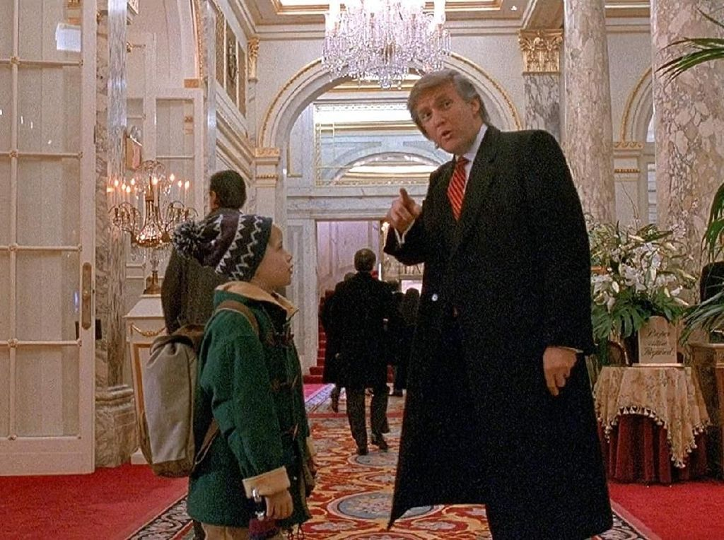 Adegannya di Home Alone Dipotong, Donald Trump Dibela Sang Anak