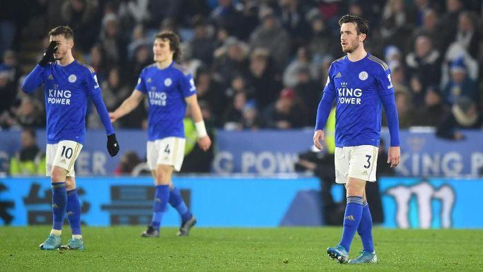 Leicester City kalah 0-4 dari Liverpool di tabrak boxing day Liga Inggris. (Foto: Michael Regan/Getty Images)