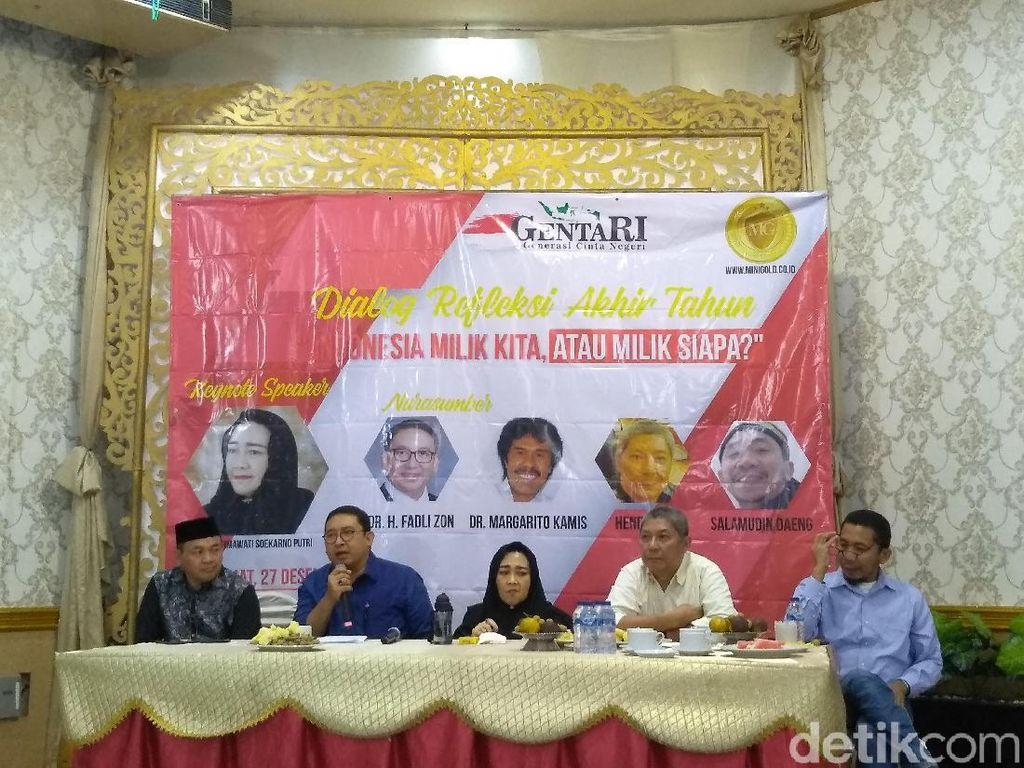 Fadli Zon: Isu Radikalisme Jadi Kambing Hitam Tutupi Ketidakbecusan Pemerintah