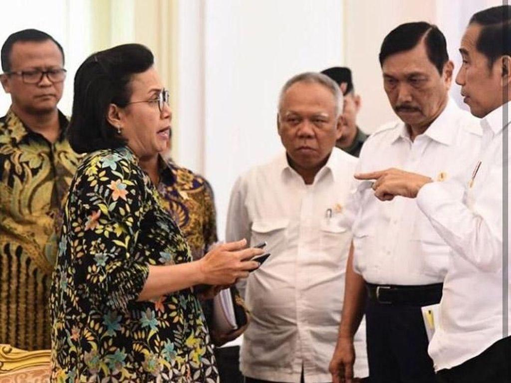 Ini Bukti Jokowi dan Sri Mulyani Sudah Lama Kenal