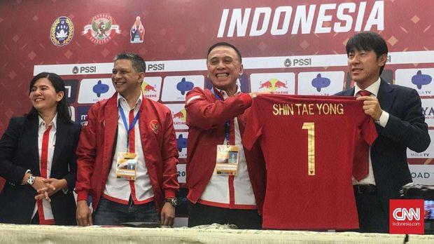 Shin Tae Yong: Timnas Indonesia Harus Siap Main Bertahan