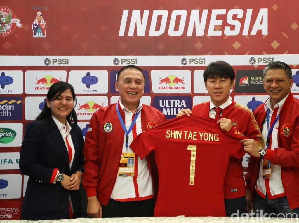 PSSI Umumkan Susunan Pelatih Timnas Indonesia