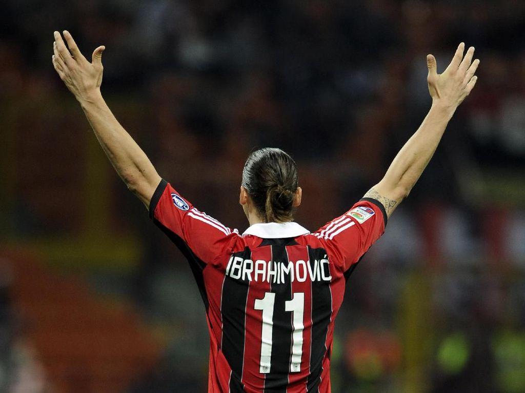 Ibrahimovic yang Haus Kemenangan Dibutuhkan untuk Bangkitkan Milan