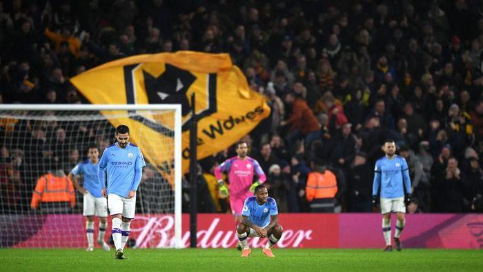 Manchester City sudah 14 poin dari Liverpool dan berpotensi tertinggal lebih jauh lagi. (Foto: Shaun Botterill/Getty Images)