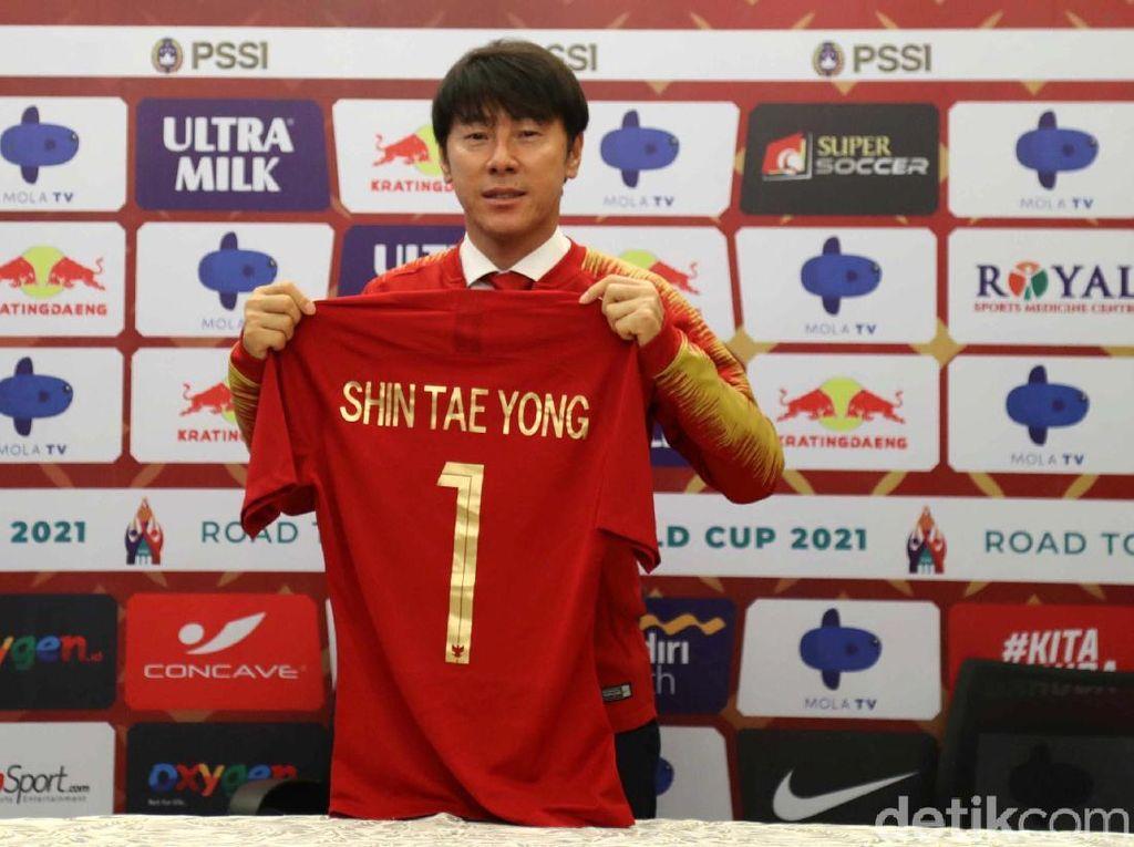 Shin Tae-yong Resmi Jadi Pelatih Timnas Indonesia