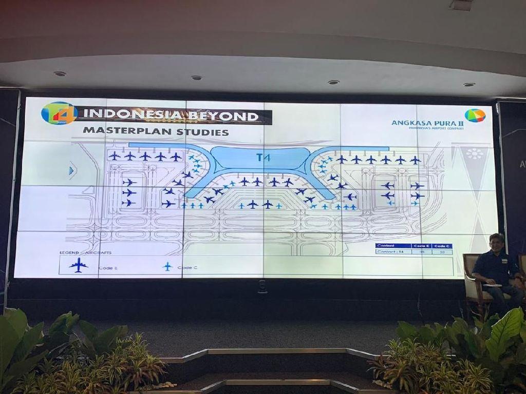 Ada Terminal 4, Soetta Bakal Jadi Bandara Terbesar di Asia Tenggara