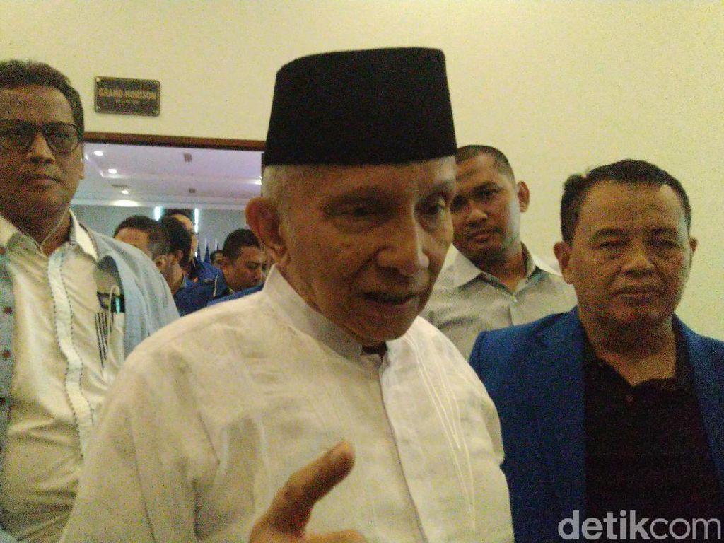 Koalisi Jokowi Tangkis Kritik Amien Rais
