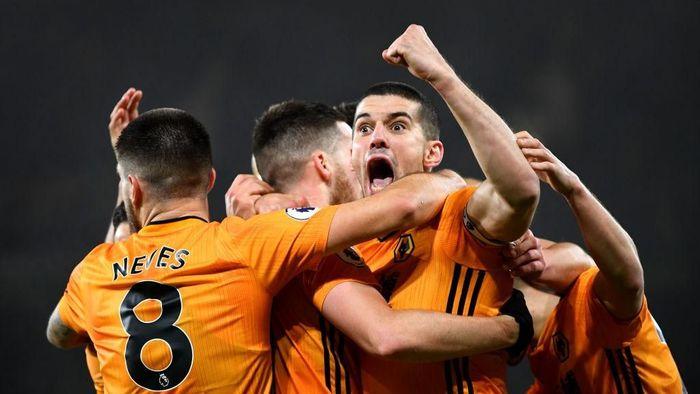 Wolverhampton menang 3-2 atas Manchester City di laga boxing day Liga Inggris. (Foto: Clive Mason/Getty Images)