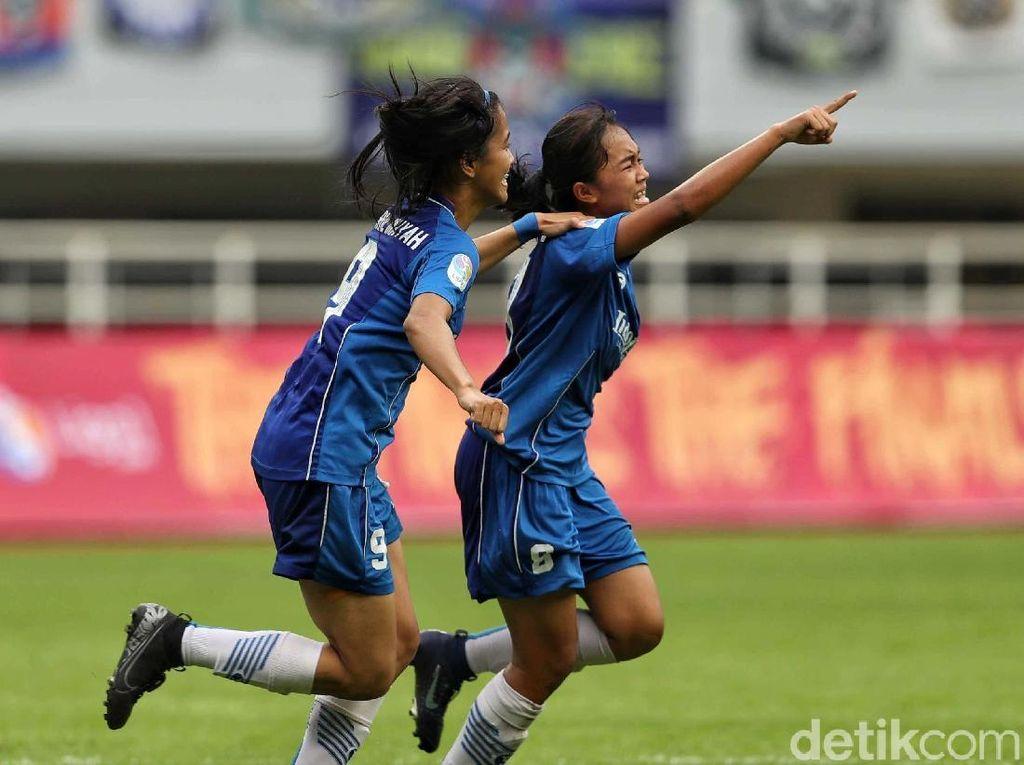 Gasak Tira-Persikabo, Persib Bandung Juara Liga 1 Putri 2019