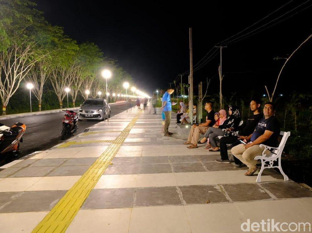 Riau Punya Pedestrian Sekinclong Ini