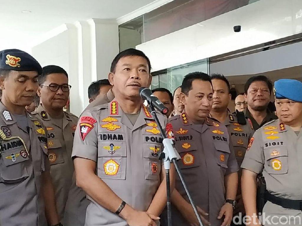 2 Polisi Aktif Tersangka Peneror Novel, Kapolri Minta Penyidikan Transparan