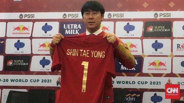 Meremajakan skuat jadi cara termudah Shin Tae Yong mengubah Timnas Indonesia.