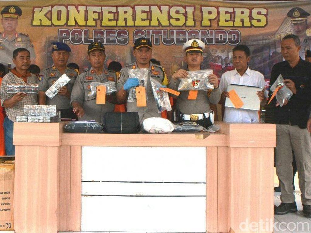 Kasus Pencurian Dominasi Tindak Kejahatan di Situbondo Selama 2019
