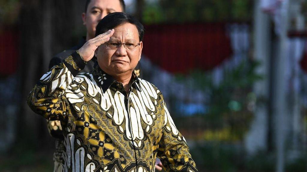 Melihat Lagi Jejak Politik Prabowo dalam Jepretan Foto