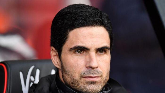 Mikel Arteta selalu punya daftar pemain incara. (Foto: Justin Setterfield/Getty Images)
