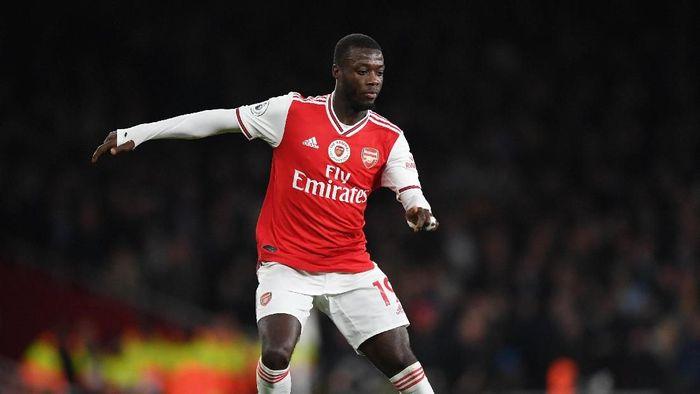 Nicolas Pepe belum juga tampil memuaskan sejauh ini bersama Arsenal (Shaun Botterill/Getty Images)