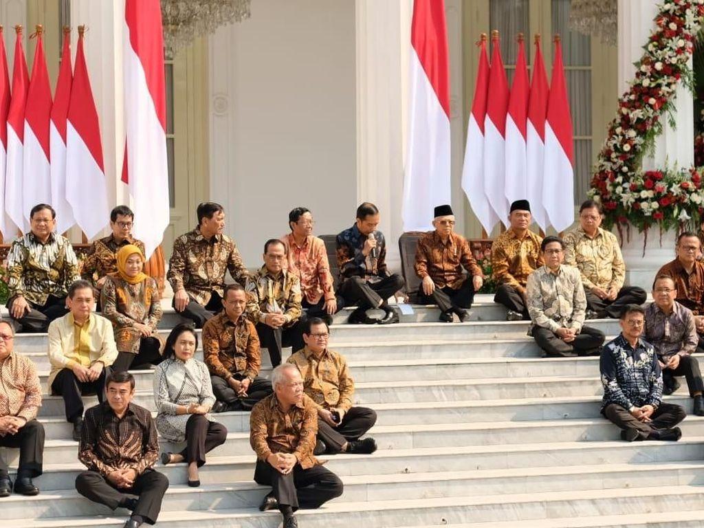 Tanggapan Publik Mendengar Isu Reshuffle Menteri Jokowi