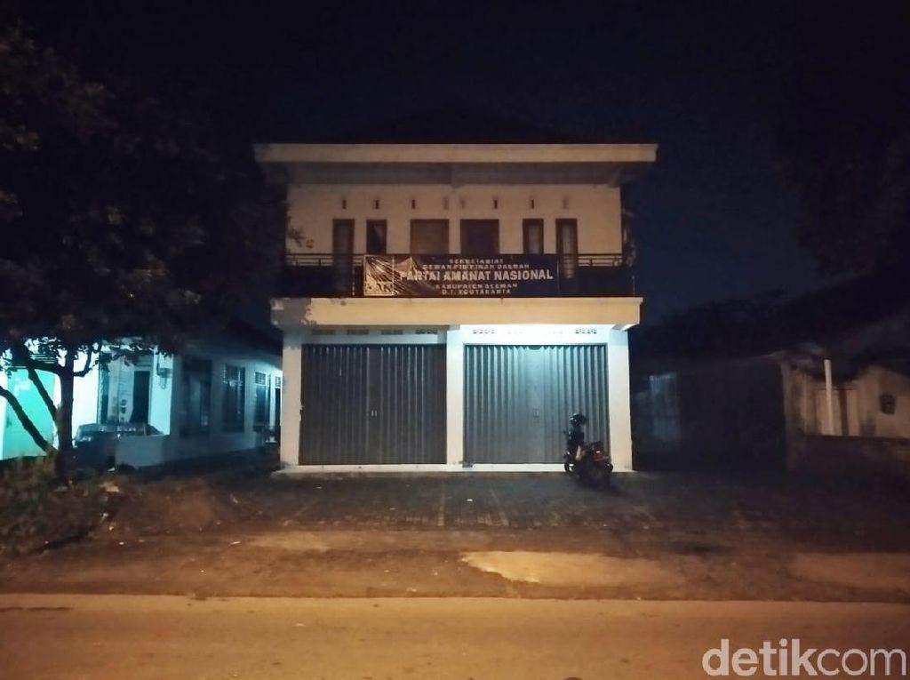 Ini Kantor DPD PAN Sleman di Ruko Sewaan yang Disinggung Mumtaz Rais