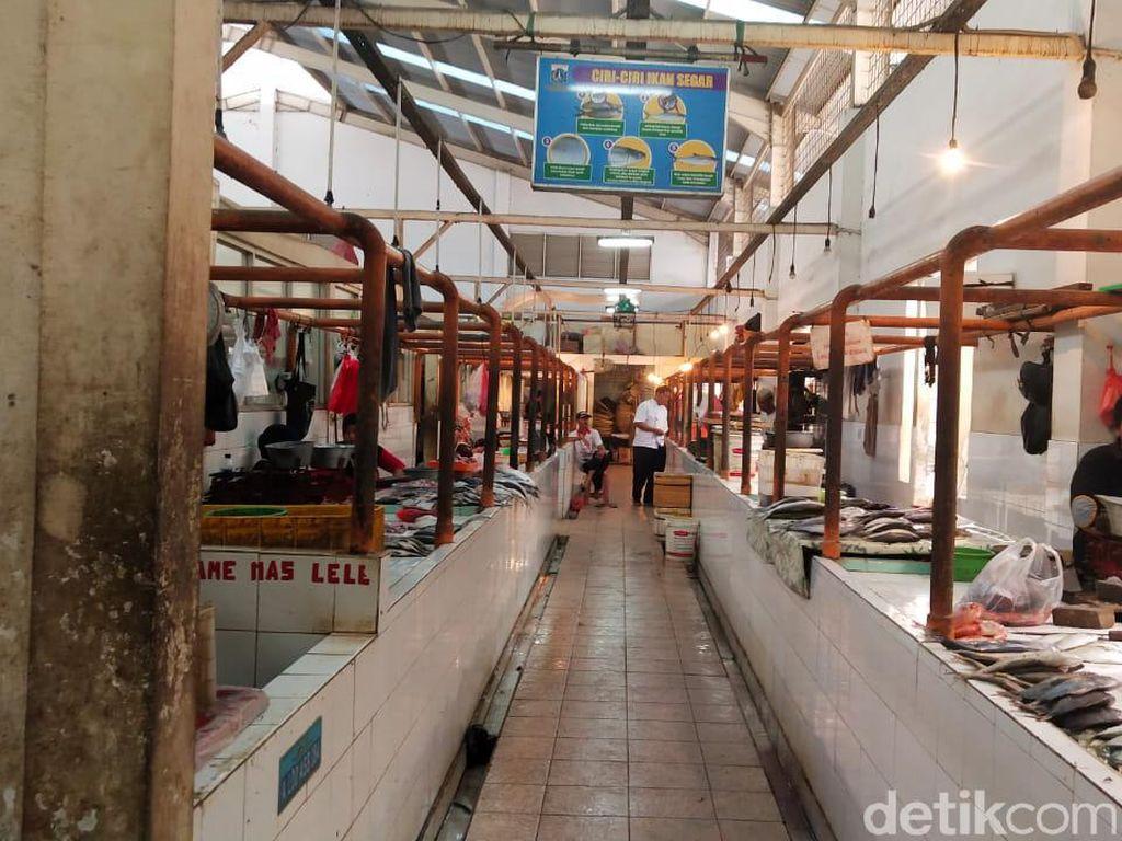 Ada Pedagang Positif Corona, Pasar Gondangdia Jakpus Ditutup 3 Hari