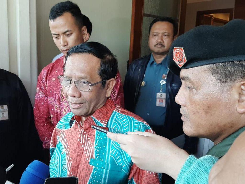 Draf Perpres KPK Dikritik, Mahfud: Kalau Nggak Baik Diuji Saja