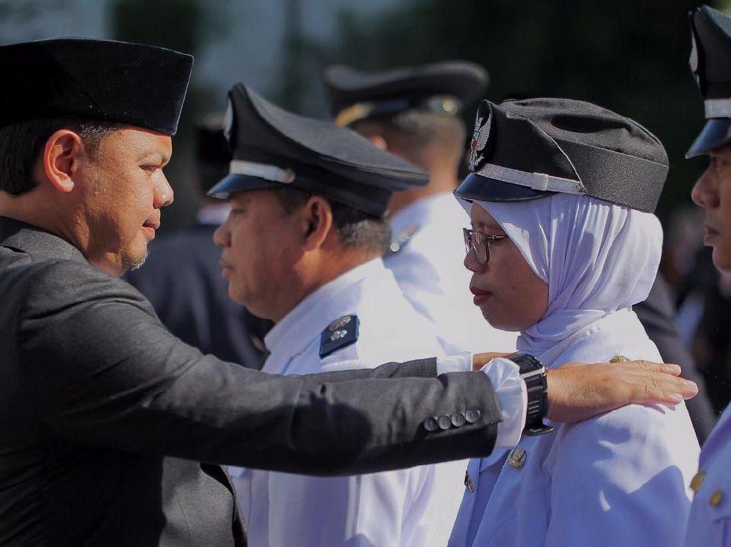 Lantik 496 Pejabat, Bima Arya Ingin Jajarannya Sukseskan Bogor Berlari