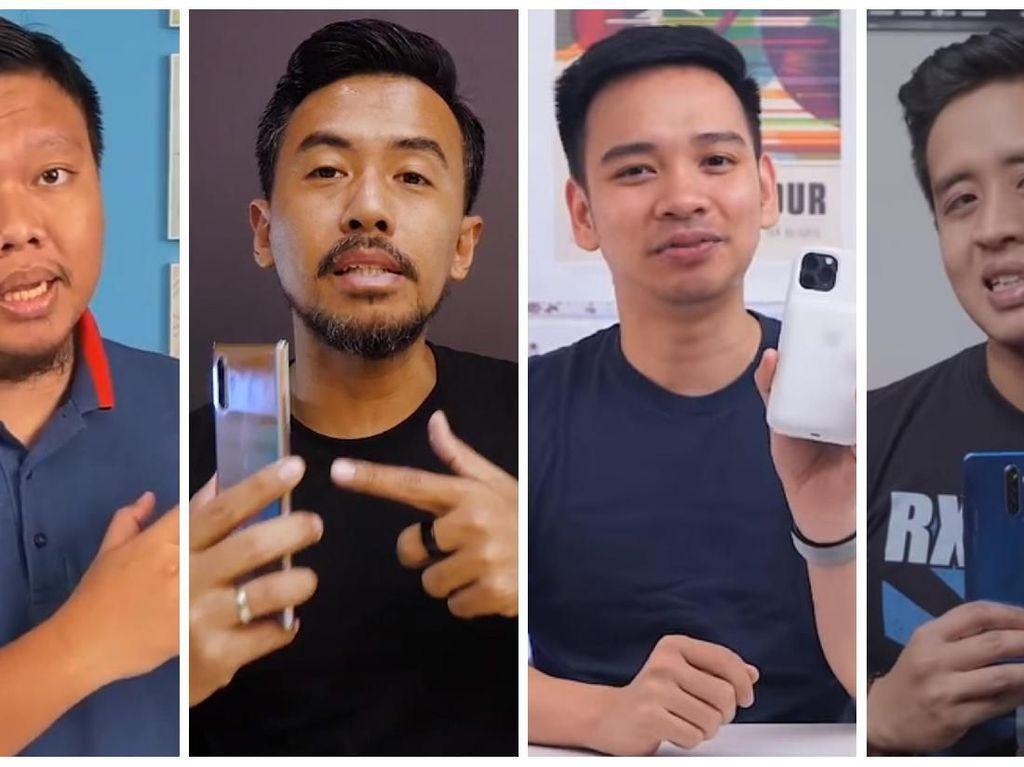 5 Ponsel Terbaik 2019 Versi Tech YouTuber Indonesia Adalah...