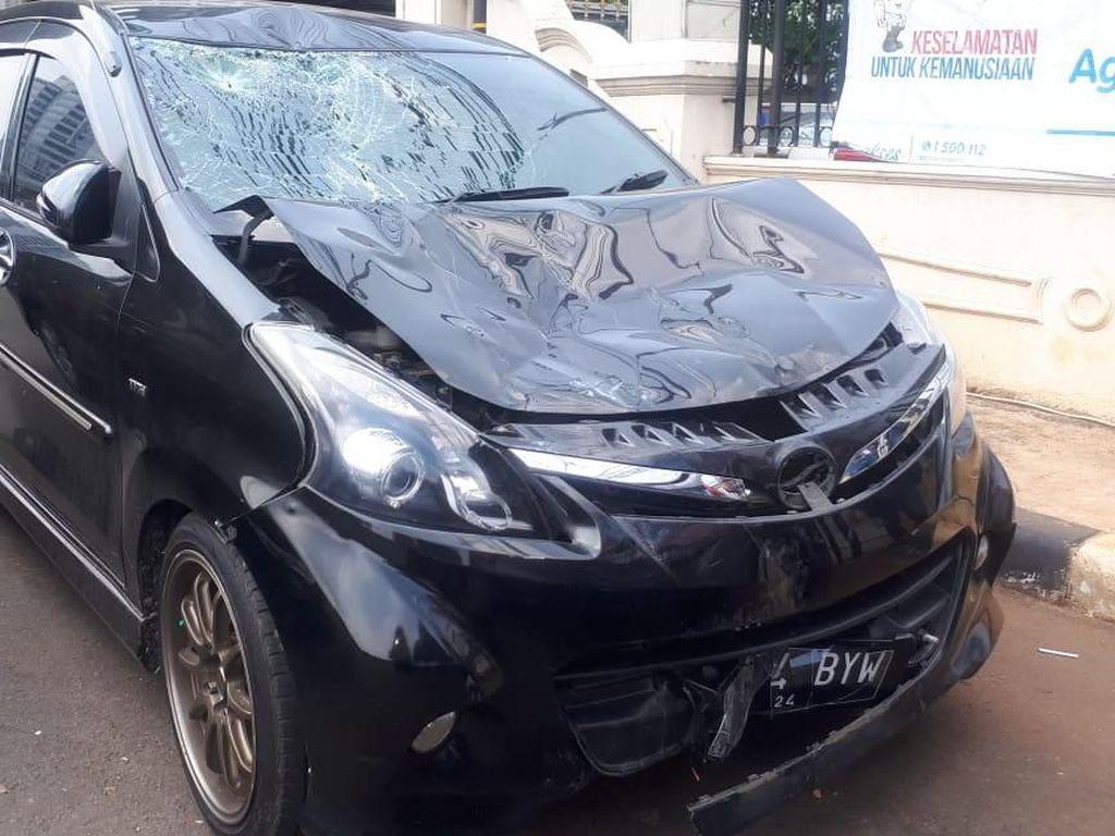 Alasan Polisi Tahan PNS Sopir Mobil yang Tabrak Pesepeda di Sudirman