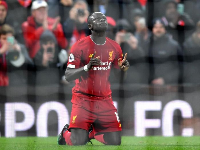 Striker Liverpool Sadio Mane. (Foto: Laurence Griffiths/Getty Images)