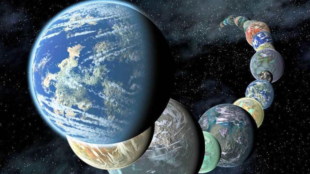 Temuan 10 Planet Mirip Bumi di 2019